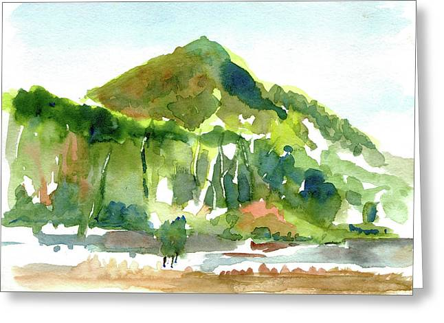 Corte Madera Creek Greeting Card by Tom Simmons