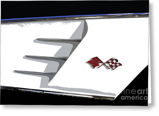 Corvette Colors Greeting Card by David Lee Thompson