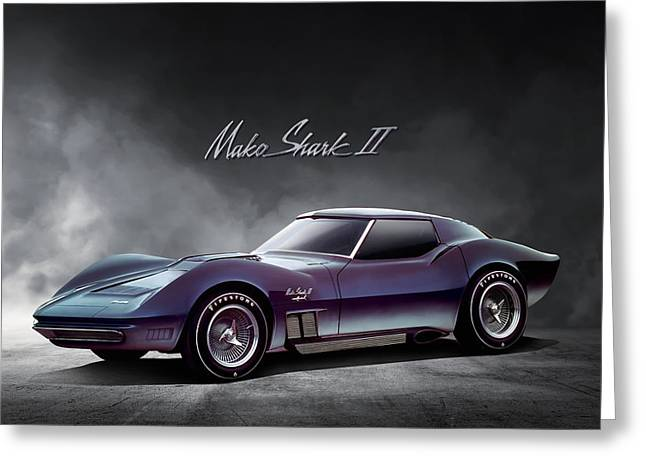 Corvette Concept Greeting Card