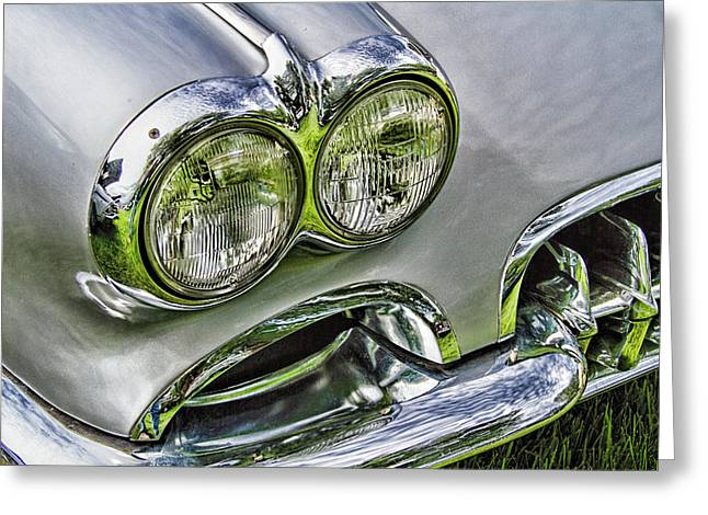 Corvette Front End Greeting Card