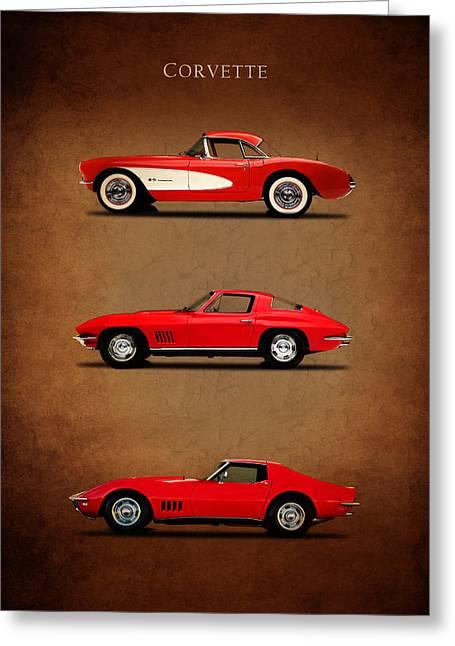 Corvette Series 1 Greeting Card