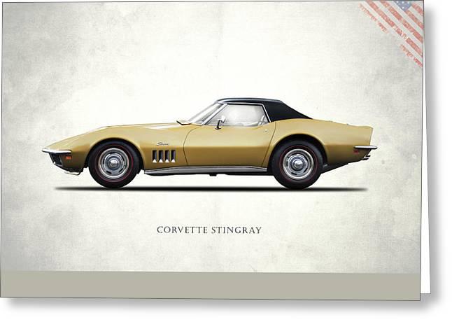 Corvette Stingray 1969 Greeting Card by Mark Rogan