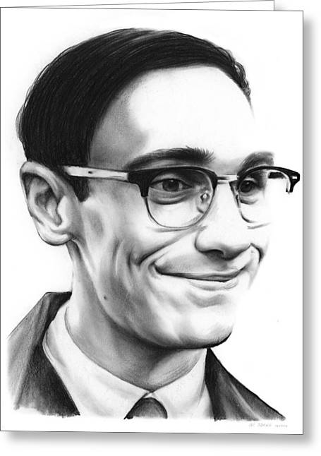 Cory Michael Smith Greeting Card