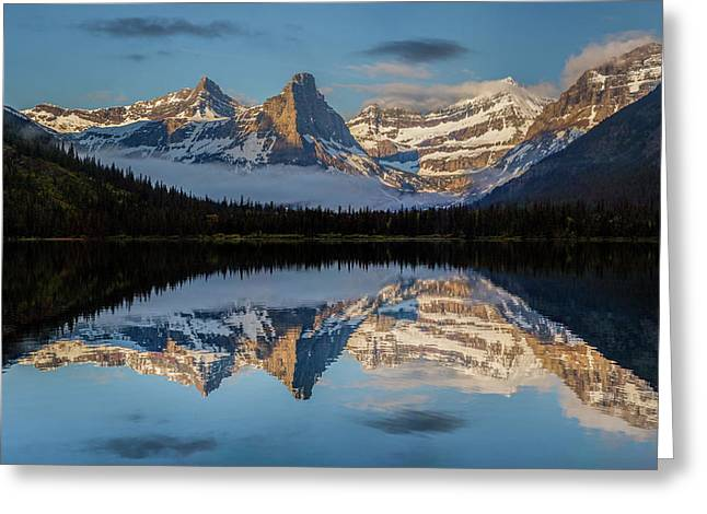 Cosley Lake // Glacier National Park  Greeting Card
