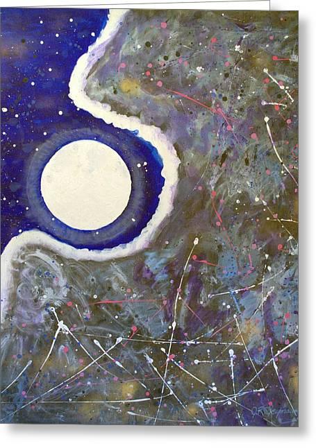 Cosmic Dust Greeting Card