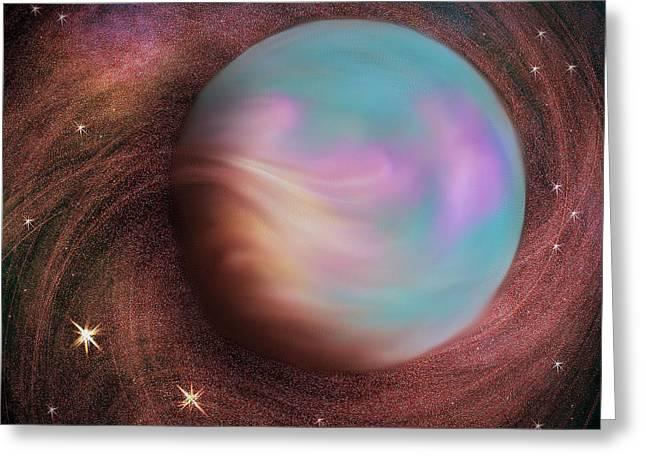 Cosmic Fantasy Greeting Card