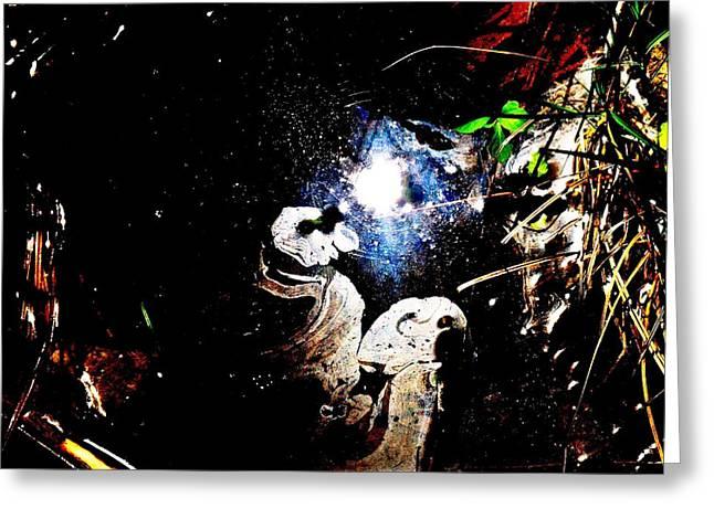 Cosmic Ponderment Greeting Card