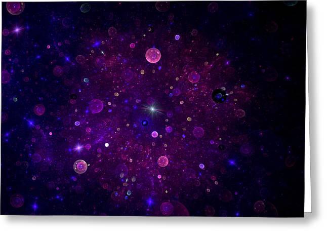 Cosmic Wonders Greeting Card by Steve K
