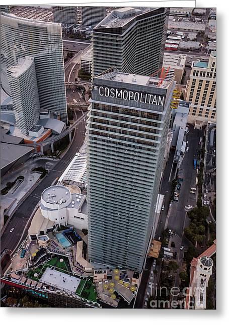 Cosmopolitan Hotel, Las Vegas Greeting Card