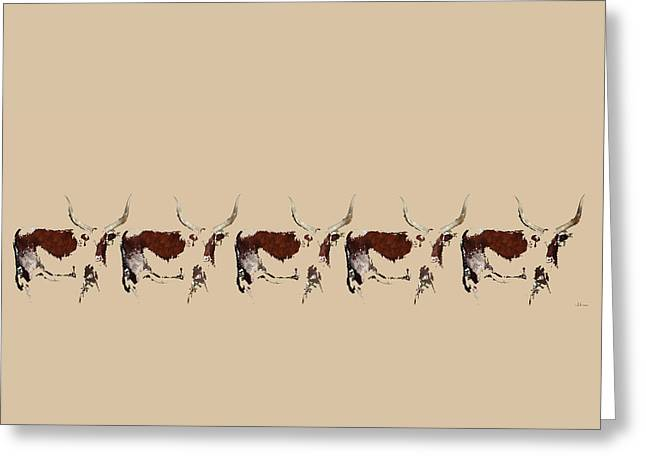 Cosmopolitan Watusi Greeting Card