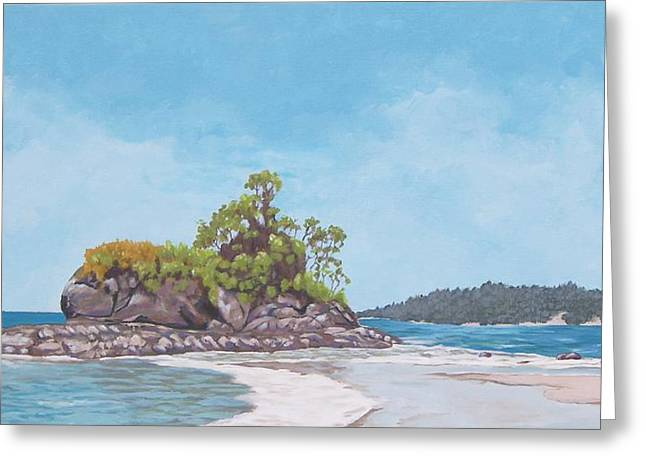 Costa Rican Coast Greeting Card