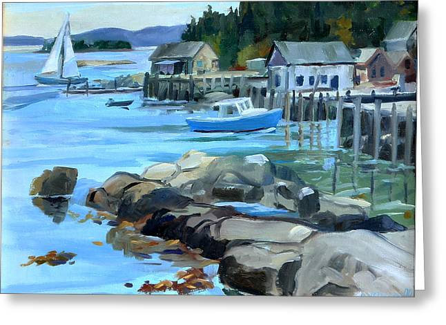 Costal Maine Greeting Card