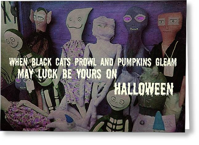Costume Party Quote Greeting Card by JAMART Photography