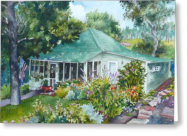 Cottage At Chautauqua Greeting Card