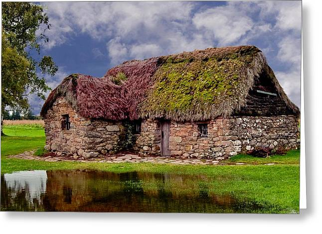 Cottage In The Highlands Greeting Card