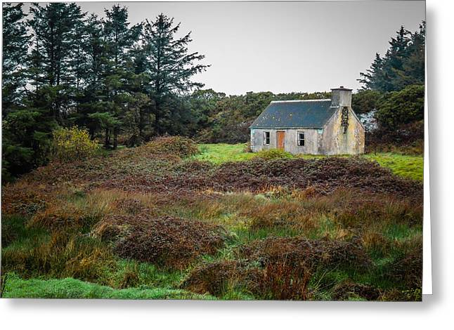 Cottage In The Irish Countryside Greeting Card
