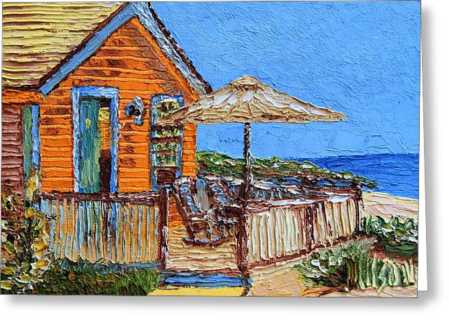 Cottage In The Keys Greeting Card