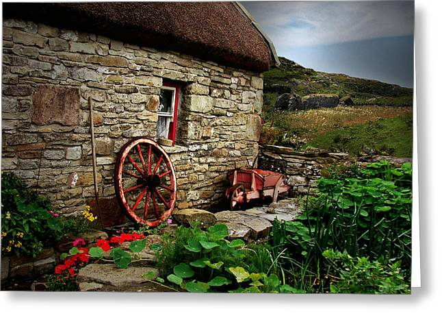 Cottage On The Moor Greeting Card