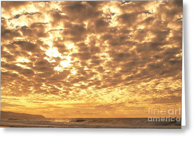 Cotton Clouds Greeting Card by Vince Cavataio - Printscapes