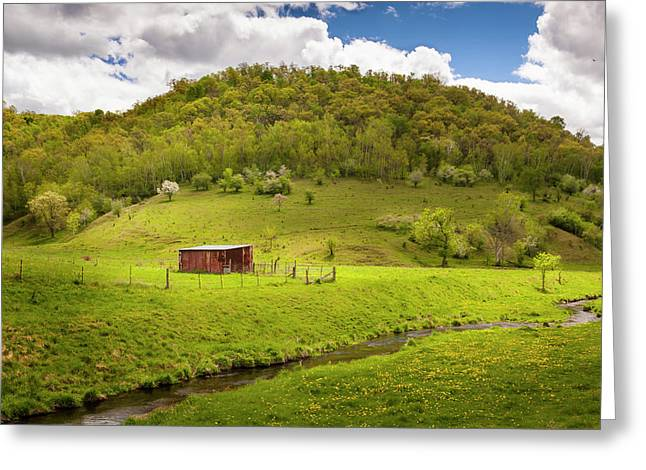 Coulee Morning Greeting Card