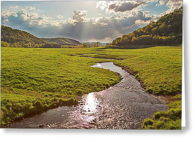Coulee View Greeting Card