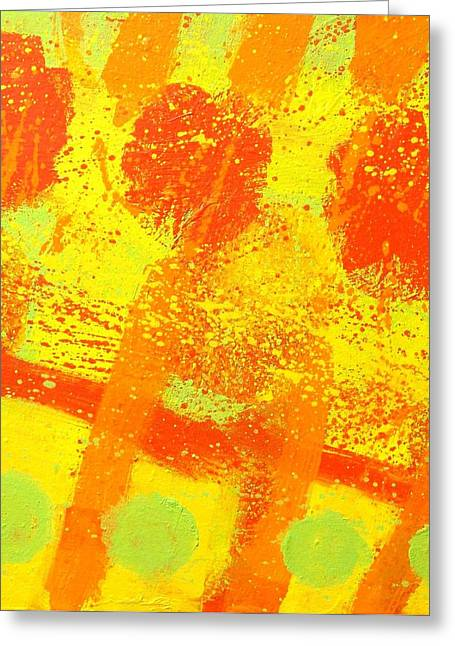 Print Card Greeting Cards - Counterpoint Greeting Card by John  Nolan