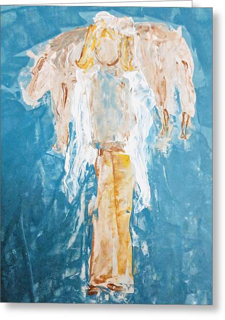 Country Angel Greeting Card