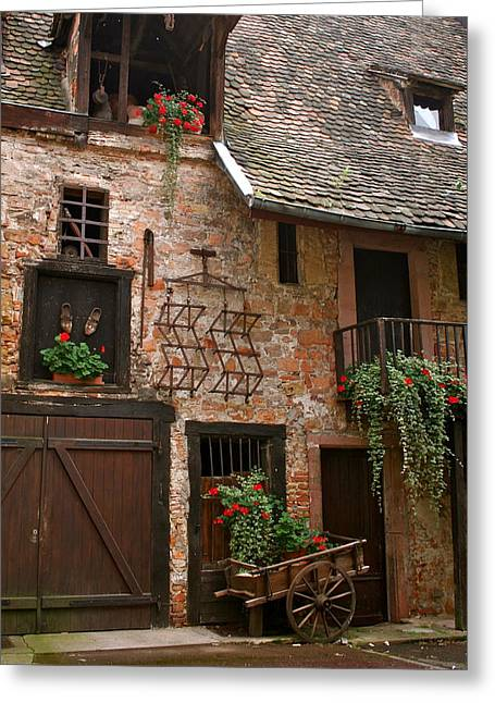 Country Charm Greeting Card by Amy Sorvillo