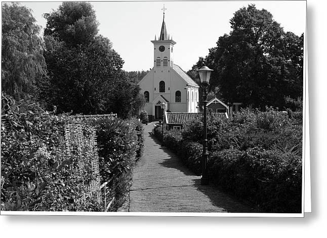 Country Churchyard Greeting Card by Aidan Moran