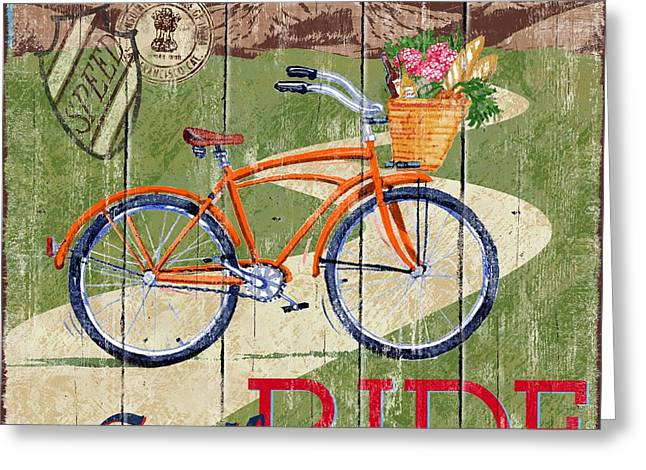 Country Cruisers Iv Greeting Card by Paul Brent