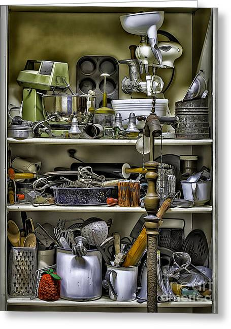 Country Kitchen Pantry Greeting Card
