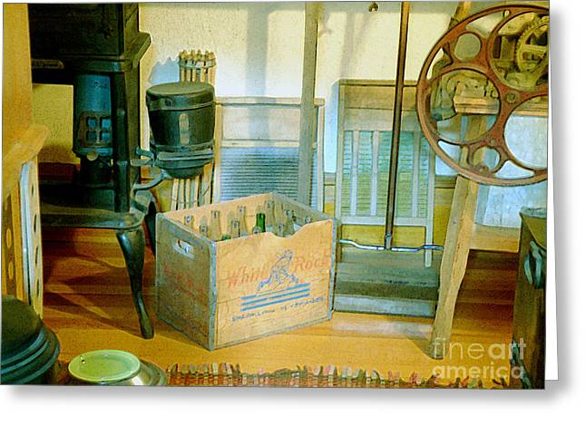 Country Kitchen Sunshine II Greeting Card by RC deWinter