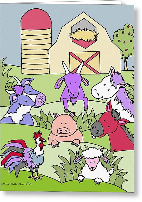 Country Life 15 Greeting Card by Sherry Holder Hunt