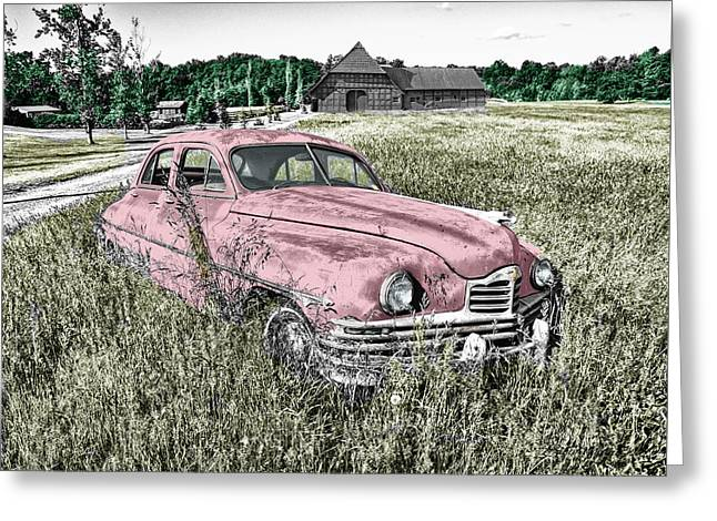 Country Life Greeting Card by Ericamaxine Price