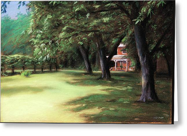 Country Livin Greeting Card by Christopher Reid