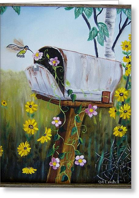 Country Mailbox Greeting Card