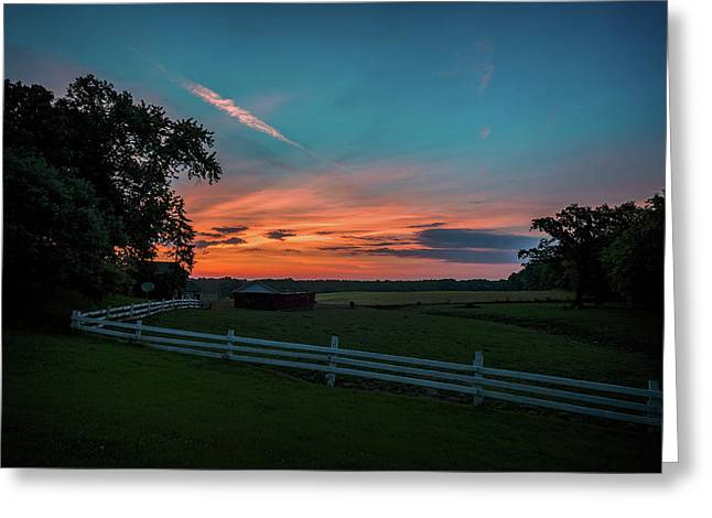 Country Morning Greeting Card