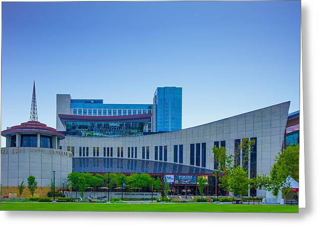 Country Music Hall Of Fame And Museum Greeting Card