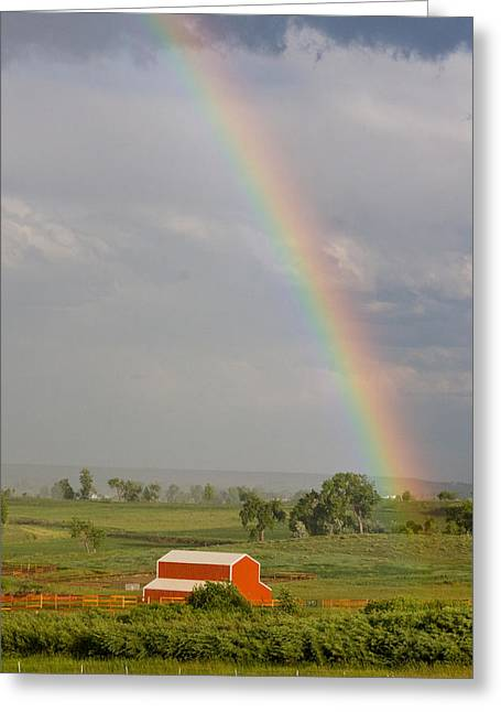 Country Rainbow Greeting Card by James BO  Insogna