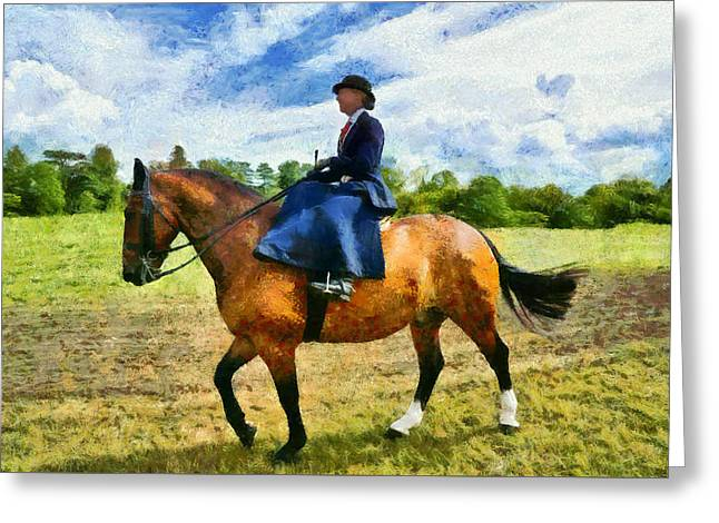 Greeting Card featuring the photograph Country Ride by Scott Carruthers