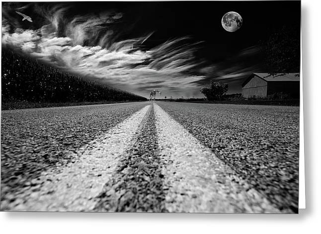 Country Road 51 Greeting Card