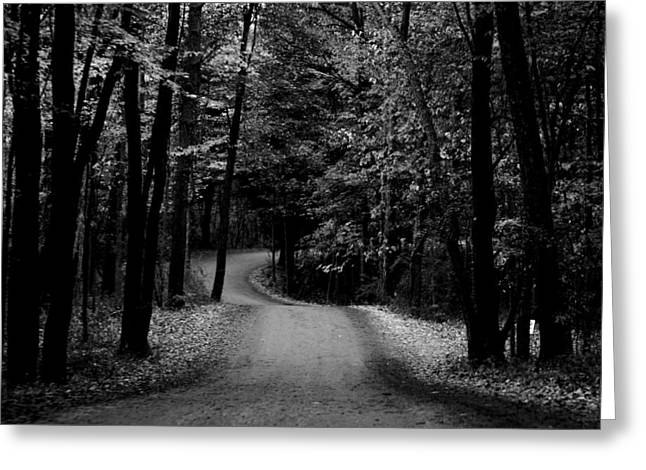Country Road II Greeting Card by Michelle  BarlondSmith