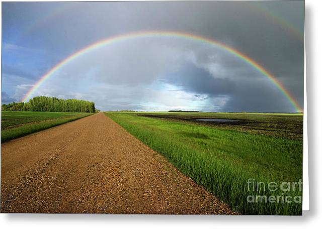 Country Road Take Me Home 2 Greeting Card