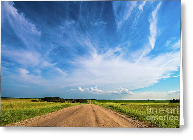 Country Roads IIi Greeting Card