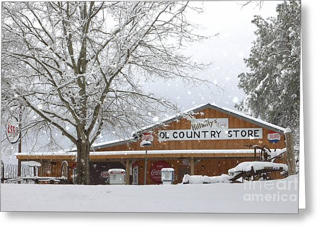 Country Store Greeting Card by Benanne Stiens