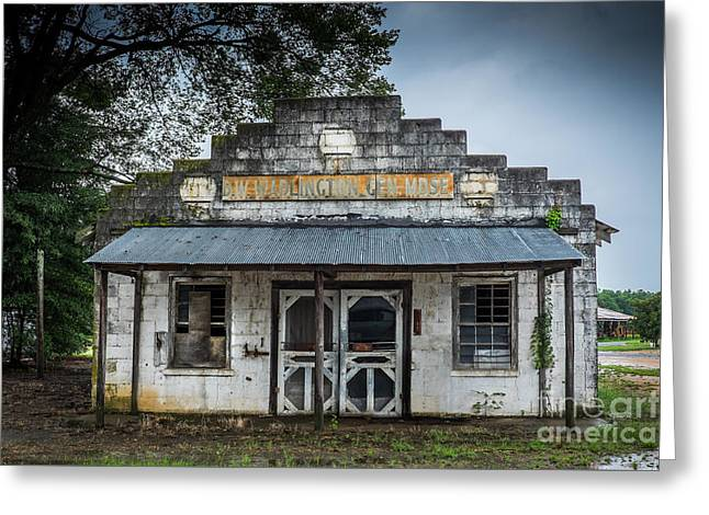 Country Store In The Mississippi Delta Greeting Card