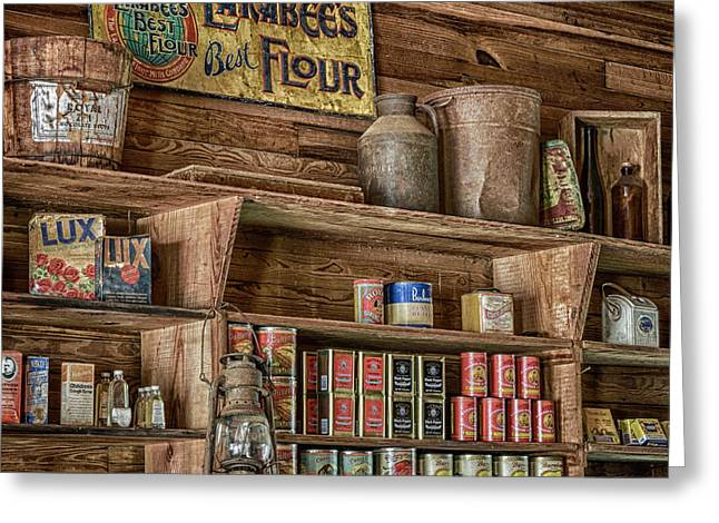 Country Store Greeting Card by Stephen Stookey