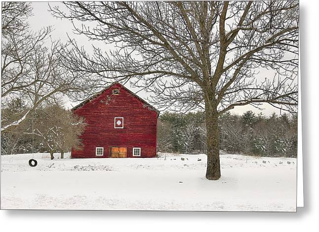Country Vermont Greeting Card
