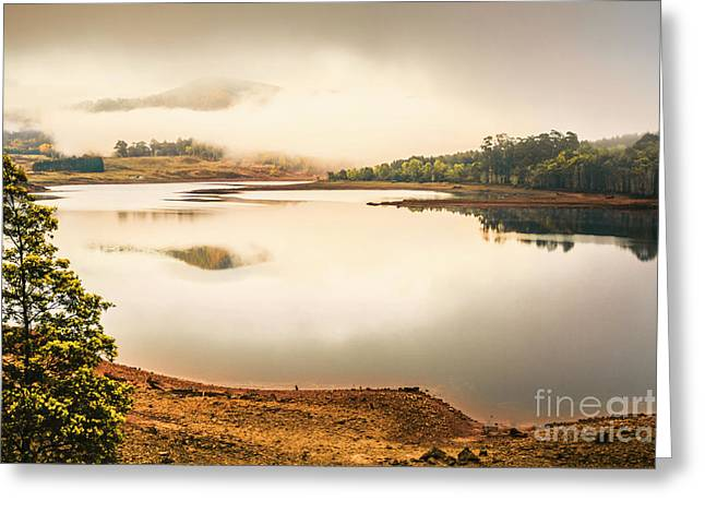 Country Waters Greeting Card