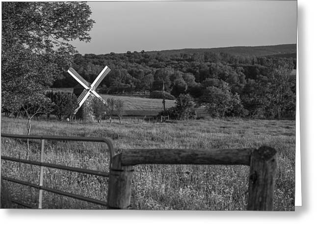 Country Windmill Greeting Card